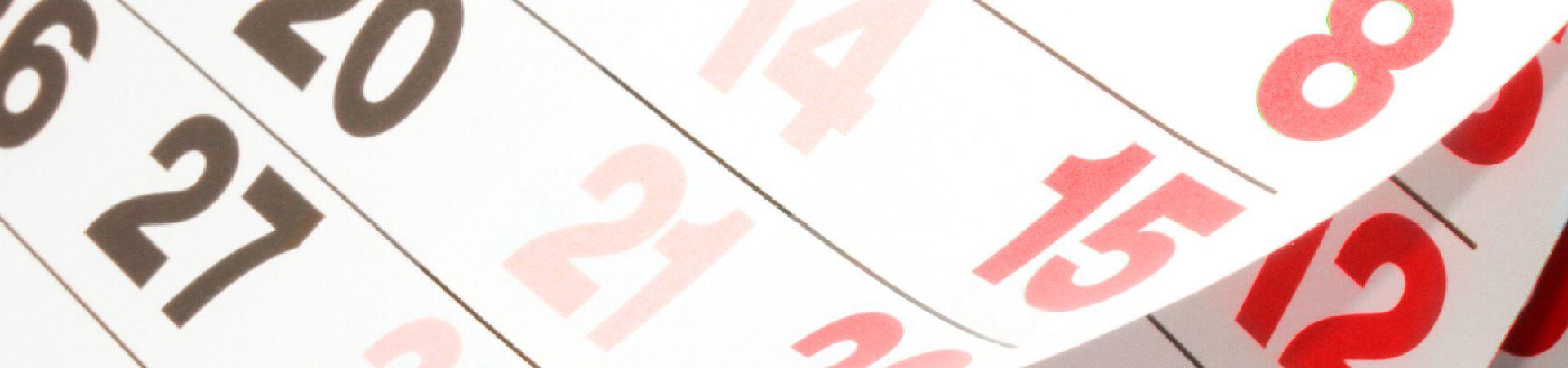 Termine & Tickets im Touren-Kalender