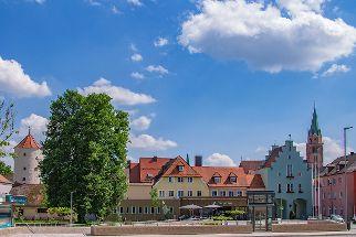 Stadtansicht mit Unterem Tor Neumarkt. Foto: Gehrmann
