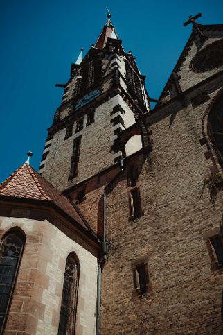Die Dreieinigkeitskirche in Nürnberg-Gostenhof.