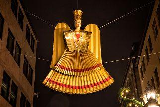 Prachtvoller Engelschmuck: Nürnberger Christkindlesmarkt