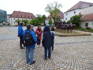 Hofplan/Residenzplatz in Neumarkt. Foto: Anita Korndörfer