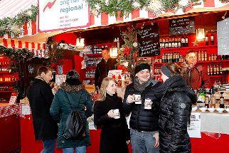 Glühwein auf dem Nürnberger Christkindlesmarkt